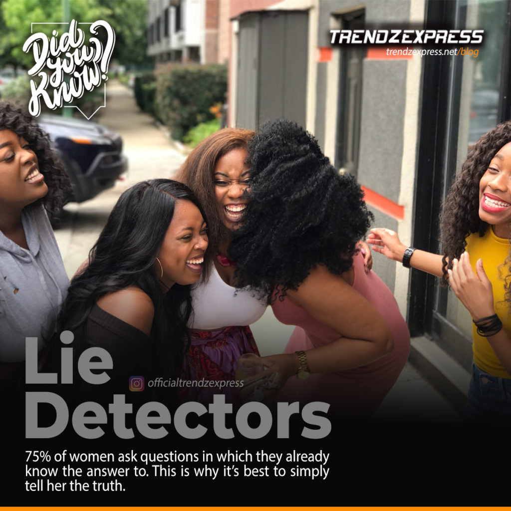 Common lies women tell men and how to detect them