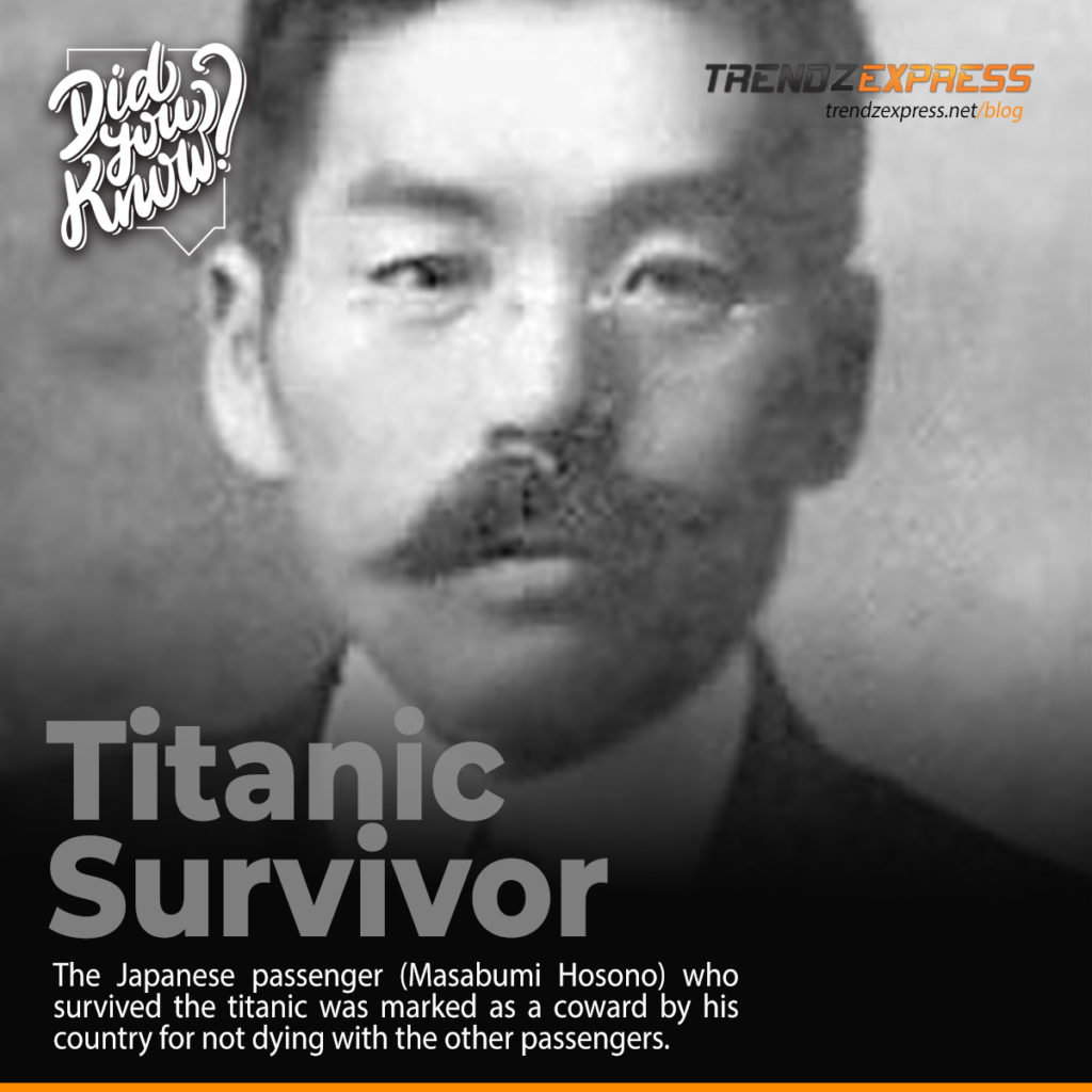 The Titanic Survivor was condemned for not dying with other passengers