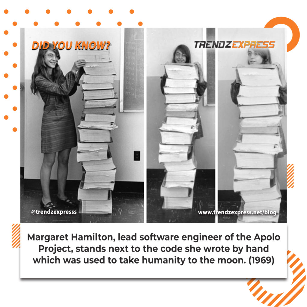 Meet Margaret Hamilton: the woman that took humanity to the moon