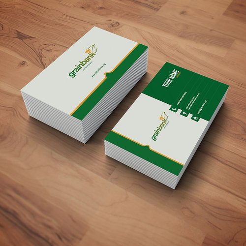Business card design and production